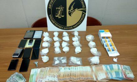 Συνελήφθησαν δύο αλλοδαποί για διακίνηση κοκαΐνης στην Αττική