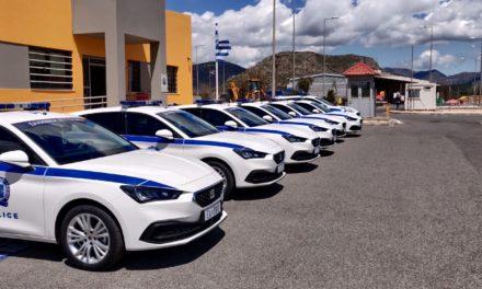 Eπτά νέα οχήματα για το Τμήμα Τροχαίας Αυτοκινητοδρόμων Ανατολικής Πελοποννήσου