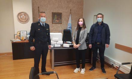 Δωρεά 2.000 μασκών μίας χρήσεως στη Διεύθυνση Αστυνομίας Κοζάνης