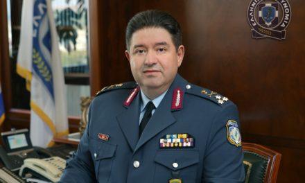 Χαιρετισμός του Αρχηγού της ΕΛ.ΑΣ., Αντιστρατήγου Μιχαήλ Καραμαλάκη στους πρωτοετείς Δοκίμους Αστυφύλακες