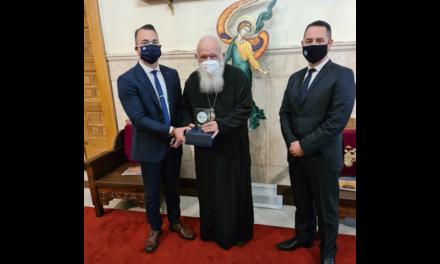 Επίσκεψη του νέου Προεδρείου της Π.Ο.ΑΞΙ.Α. στον Μακαριότατο Αρχιεπίσκοπο Αθηνών και πάσης Ελλάδος