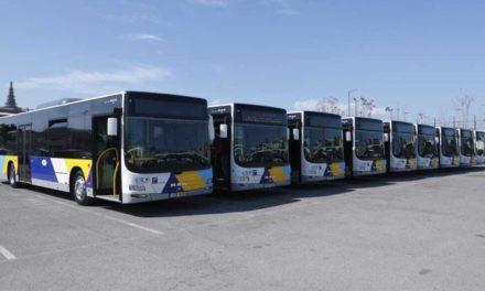 Tην Παρασκευή θα κυκλοφορήσουν τα νέα λεωφορεία με leasing