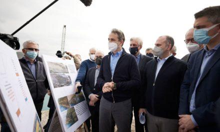 Μητσοτάκης: Τα έργα στη Διώρυγα Κορίνθου θα αναβαθμίσουν όλη την περιοχή