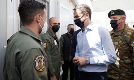 Μητσοτάκης: «Η Ελλάδα θα συνεχίσει να αναβαθμίζει τις ένοπλες δυνάμεις της»