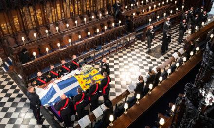 Η πρώτη ανάρτηση μετά την κηδεία του πρίγκιπα Φίλιππου