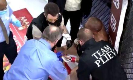 Μαχητής MMA έχασε το δάχτυλό του εν ώρα αγώνα