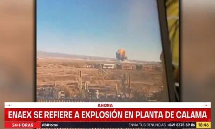 Ισχυρή έκρηξη σε εργοστάσιο παραγωγής νιτρογλυκερίνης στη Χιλή
