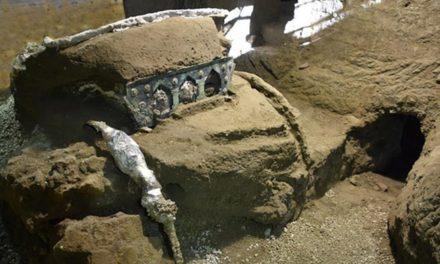 Ιταλία: Η αρχαιολογική σκαπάνη έφερε στο φως σχεδόν άθικτο ρωμαϊκό άρμα σε αρχαία έπαυλη κοντά στην Πομπηία /BINTEO