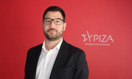 Ηλιόπουλος: Ο κ. Μητσοτάκης θα έρθει την Πέμπτη απολογούμενος στη Βουλή για την υπόθεση Λιγνάδη