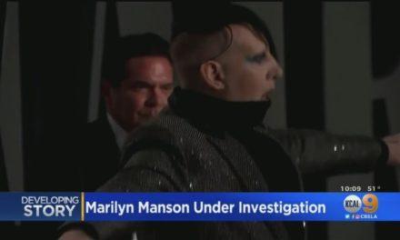 Στο στόχαστρο έρευνας ο Μέριλιν Μάνσον για ενδοοικογενειακή βία – Τέσσερις γυναίκες τον έχουν καταγγείλει για κακοποίηση – BINTEO