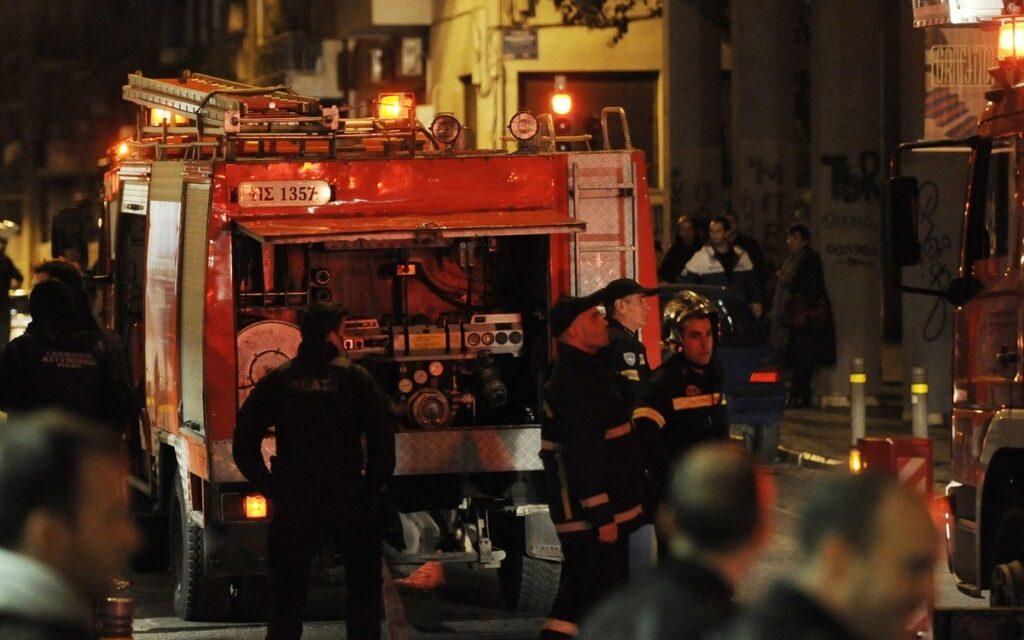 Διαβατά: Φωτιά στο κέντρο υποδοχής μεταναστών