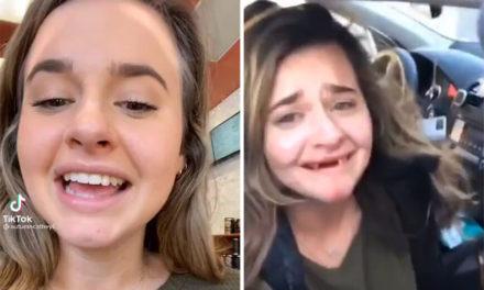Οι μεθυσμένες περιπέτειες νεαρής κοπέλας που έχασε τα μπροστινά της δόντια
