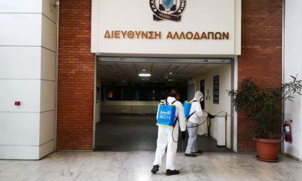 Θωμάς Μπόζιαρης: Συνεχίζονται οι απολυμάνσεις στη Διεύθυνση Αλλοδαπών Αττικής