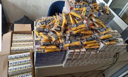 Αμεσοδρασίτες «ξετρύπωσαν» 2.800 πακέτα λαθραίων τσιγάρων