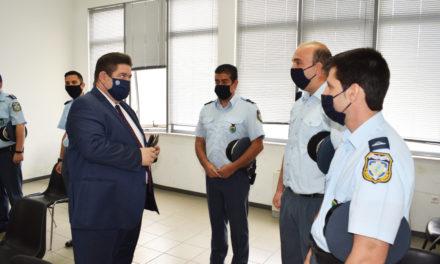 ΦΩΤΟΓΡΑΦΙΕΣ: Ο Αρχηγός της ΕΛ.ΑΣ. Αντιστράτηγος Μ. Καραμαλάκης στη Γενική Περιφερειακή Αστυνομική Διεύθυνση Πελοποννήσου