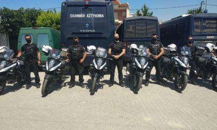 Φωτογραφίες: Με 16 νέες μοτοσικλέτες ενισχύονται οι Υπηρεσίες της Γενικής Περιφερειακής Αστυνομικής Διεύθυνσης Θεσσαλίας