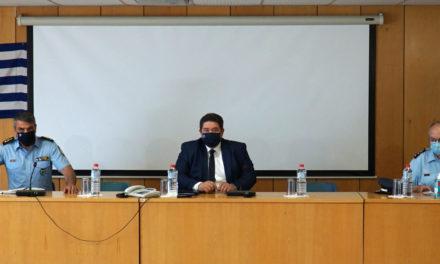 Φωτογραφίες από την επίσκεψη του Αρχηγού της ΕΛ. ΑΣ. στη Γενική Περιφερειακή Αστυνομική Διεύθυνση Κρήτης