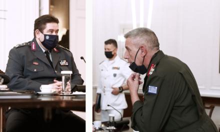 Συνάντηση του πρωθυπουργού με τον εκτ. διευθυντή FRONTEX – Tι συζητηθηκε