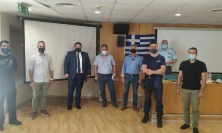 Με τον Αρχηγό της ΕΛ.ΑΣ οι αστυνομικοί του Ηρακλείου