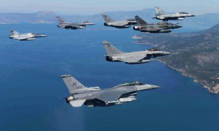 «ΗΝΙΟΧΟΣ 2021»: Οι ιπτάμενες πολεμικές μηχανές και τα όπλα της «αρετής» συναντήθηκαν στο «Top Gun» της Ελλάδας