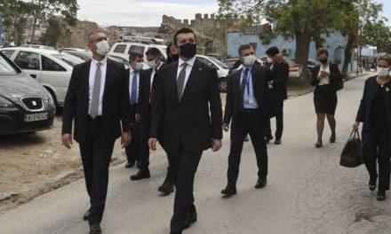"""Και συνέντευξη Τύπου από τον Κιράν παρά τον """"ανεπίσημο"""" χαρακτήρα της επίσκεψης στη Θράκη"""