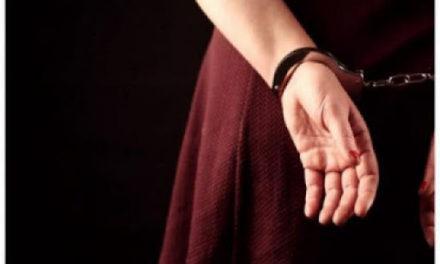 Σύλληψη γυναίκας από αστυνομικούς της Δίωξης Ναρκωτικών της Υποδιεύθυνσης Ασφαλείας Μυτιλήνης