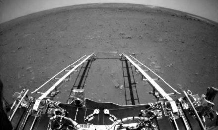 Τις πρώτες του φωτογραφίες από τον Άρη έστειλε το κινέζικο ρόβερ