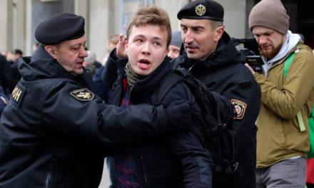 Σε φυλακή κρατείται ο δημοσιογράφος Ρομάν Προτασέβιτς
