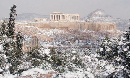 Χιόνια στην Αθήνα – Τα στατιστικά της ΕΜΥ για τα τελευταία 110 χρόνια