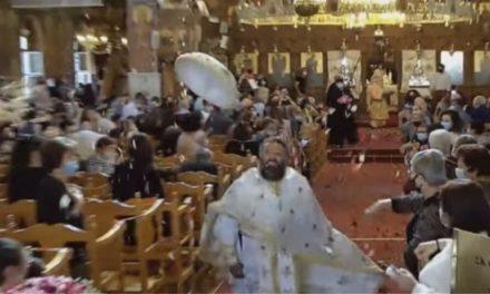 Με το καθιερωμένο… σπριντ του πατέρα Ηρακλή η πρώτη Ανάσταση στο Παραλίμνι