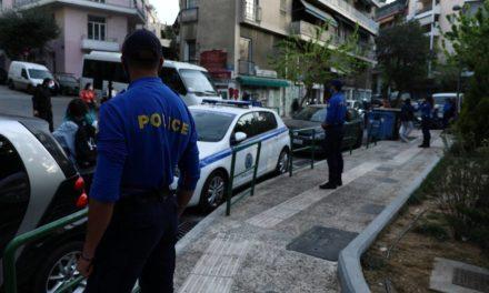 Αστυνομική επιχείρηση στην πλατεία Αγίου Γεωργίου στην Κυψέλη