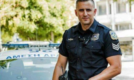 "BΙΝΤΕΟ: Συγκλονίζει ο αστυνομικός που αγκάλιασε το παιδί της Καρολάιν – ""'Ένα κομμάτι από την καρδιά μου θα έχει μείνει σε αυτό το δωμάτιο"""