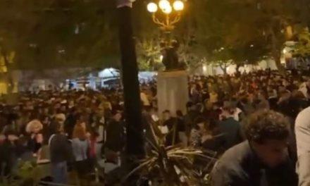 Ταυτοποιήθηκε ο DJ του κορονοπάρτι στην πλατεία Αγίου Γεωργίου στην Κυψέλη