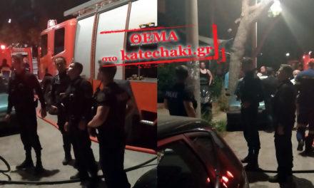 Αστυνομικοί απεγκλώβισαν οικογένεια από πολυκατοικία που «πνίγονταν» στους καπνούς
