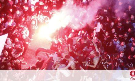 Κυπελλούχος Ελλάδας ο ΠΑΟΚ: «Κάηκε» η Θεσσαλονίκη από τους πανηγυρισμούς