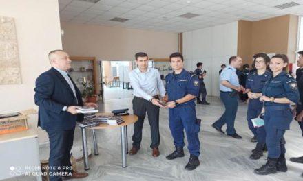 Η Ένωση Αξιωματικών Αττικής στη Σχολή Αξιωματικών ΕΛ.ΑΣ.