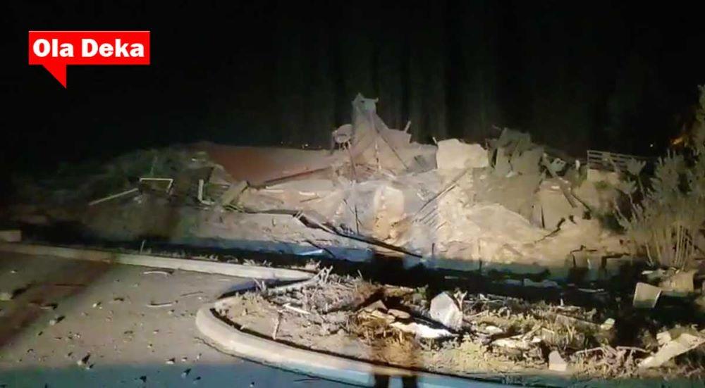 """Ισχυρή έκρηξη έκανε τη νύχτα… μέρα στην Καστοριά – Ισοπεδώθηκε τo ξενοδοχείο """"Τσάμης"""" – Απίστευτες εικόνες καταστροφής – ΒΙΝΤΕΟ – ΦΩΤΟ"""