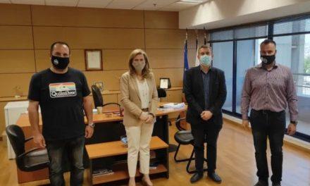 Συνάντηση Ε.ΑΣ.Υ.Α. με την Διευθύντρια της Δ.Ε.Ε.