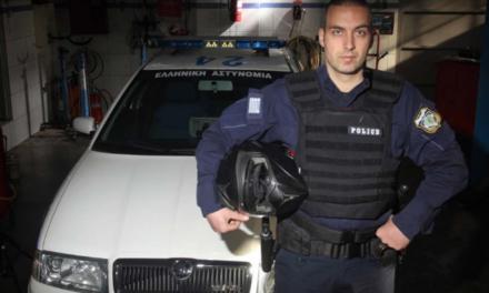 O αστυνομικός που έβαλε από την τσέπη του για να φτιάξει περιπολικό «θηρίο»