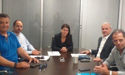 Συνάντηση με τον Τομέα Προστασίας του Πολίτη της Νέας Δημοκρατίας