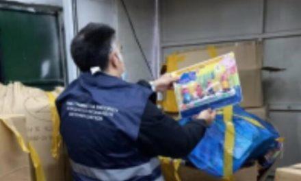 Εντοπίστηκε παράνομη αποθήκη παιχνιδιών στον Ταύρο