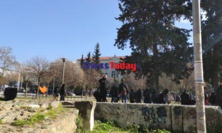 Θεσσαλονίκη: Χημικά και μολότοφ μετά το φοιτητικό συλλαλητήριο – ΒΙΝΤΕΟ – ΦΩΤΟ