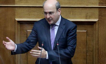 Νέα μέτρα για στήριξη επιχειρήσεων και εργαζομένων ανακοίνωσε ο Χατζηδάκης στη Βουλή – ΒΙΝΤΕΟ – ΦΩΤΟ