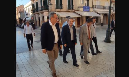 Ο Χρυσοχοΐδης στη Ζάκυνθο: Δύο ΟΠΚΕ πιάνουν δουλειά μαζί με 20 αστυνομικούς