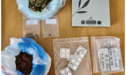 Συνελήφθη άντρας για κατοχή και διακίνηση ναρκωτικών από αστυνομικούς της Δίωξης Ναρκωτικών της Υπ/νσης Ασφαλείας Λαμίας