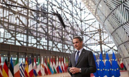 Μητσοτάκης: Η ΕΕ θα πρέπει να υιοθετήσει ένα νέο πλέγμα ισχυρών κυρώσεων κατά της Λευκορωσίας