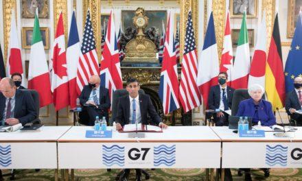 G7: Συμφωνία ορόσημο για την επιβολή παγκόσμιου ελάχιστου εταιρικού φόρου 15%
