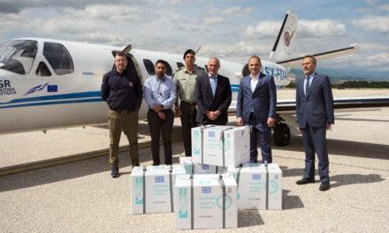 Έφτασαν στη Βόρεια Μακεδονία τα 20.000 εμβόλια AstraZeneca που δώρισε η Ελλάδα