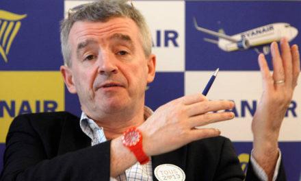 Ο επικεφαλής της Ryanair βλέπει τα ταξίδια να αυξάνονται με ταχείς ρυθμούς