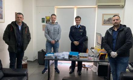 Μάσκες προσώπου υψηλής προστασίας σε αστυνομικές υπηρεσίες της Ν/Α Αττικής
